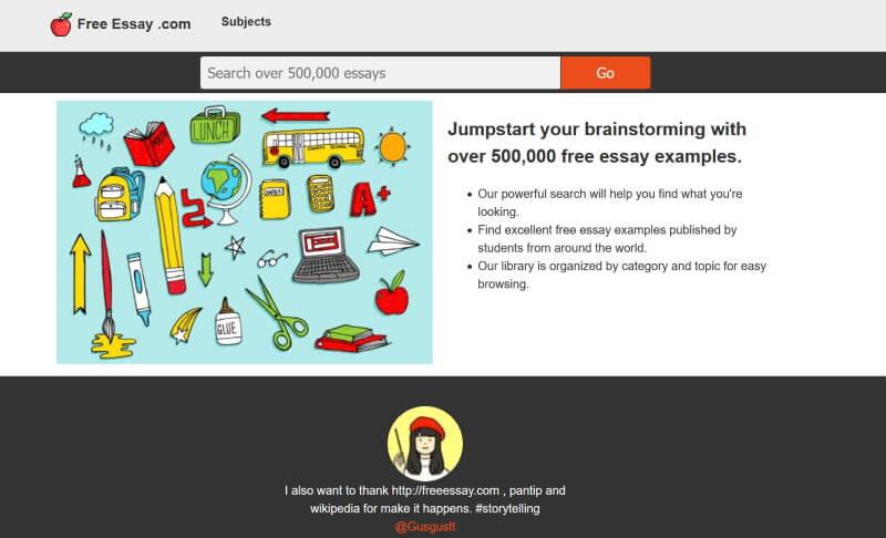 Best Free Essay Website