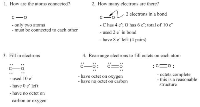 Carbon Monoxide Lewis Structure